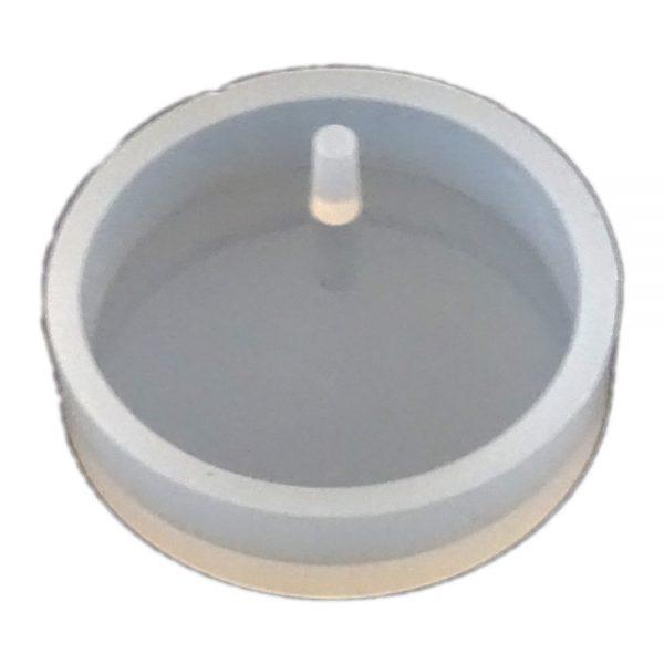 قالب سیلیکونی دایره تکی مخصوص رزین اپوکسی