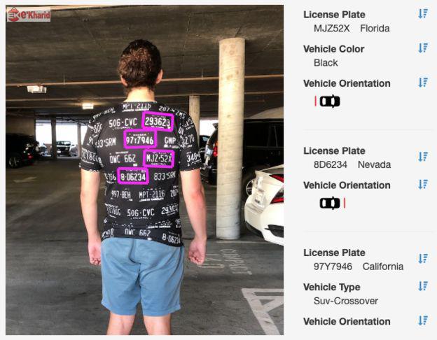تی شرت فریبنده