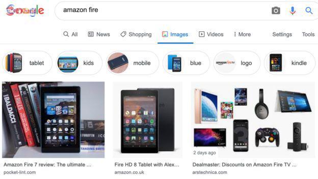 آتش تبلتهای آمازون بر جان گوگل