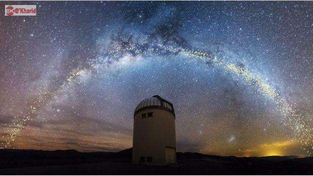 تلسکوپ دانشگاه ورشو در رصدخانه لاس کامپانیاس در شیلی