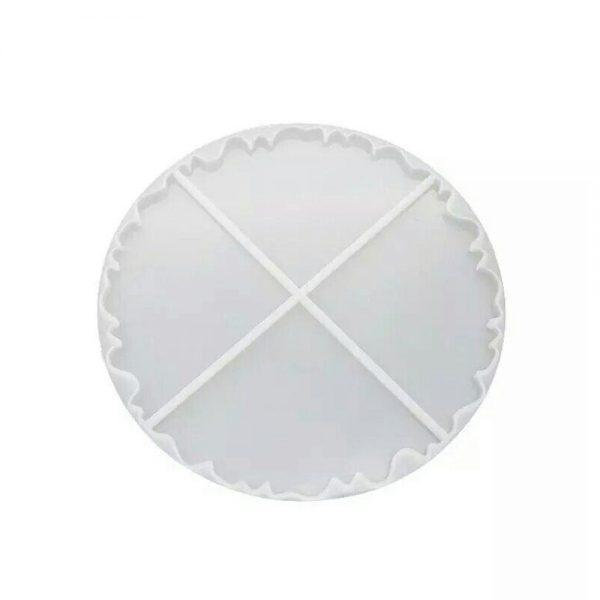 ای خرید قالب سیلیکونی رزین زیر لیوانی 4 تکه